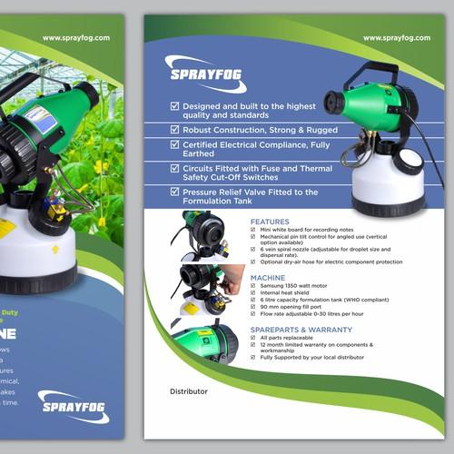 Sprayfog brochure