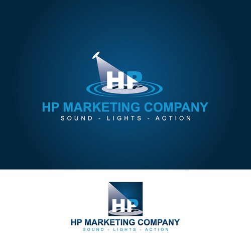 logo design for HP Marketing Company