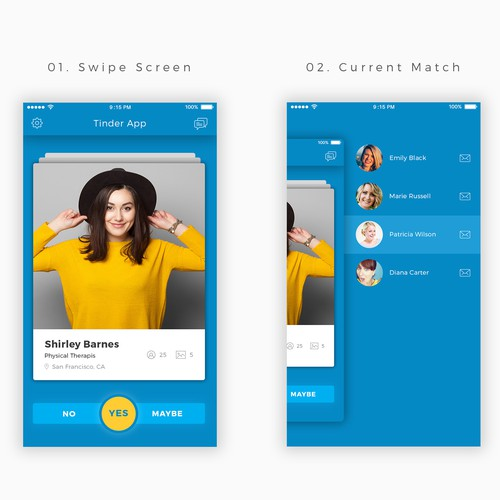 Tinder Style App