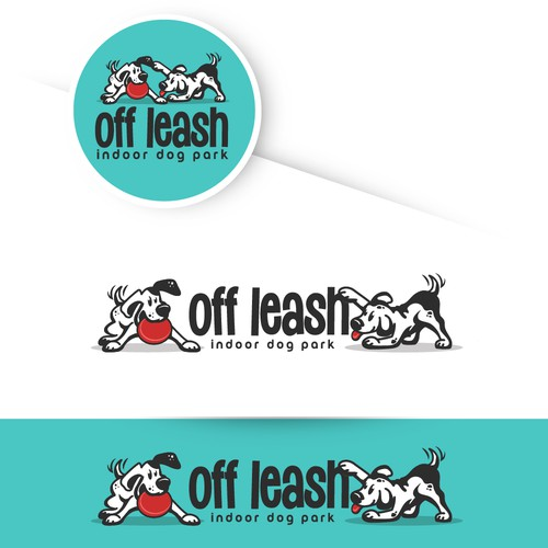 Logo design for the indoor dog park
