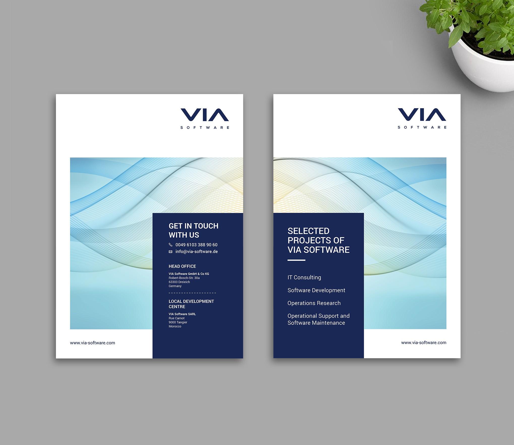 Enhancements of three brochures