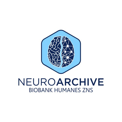 Logo for production and storage perfusion preparations of the brain and spinal cord to promote scientific research в more distant future with advanced technical capabilities.