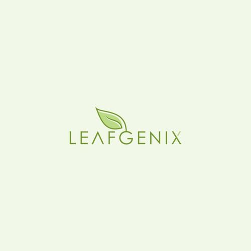 Leafgenix  logo