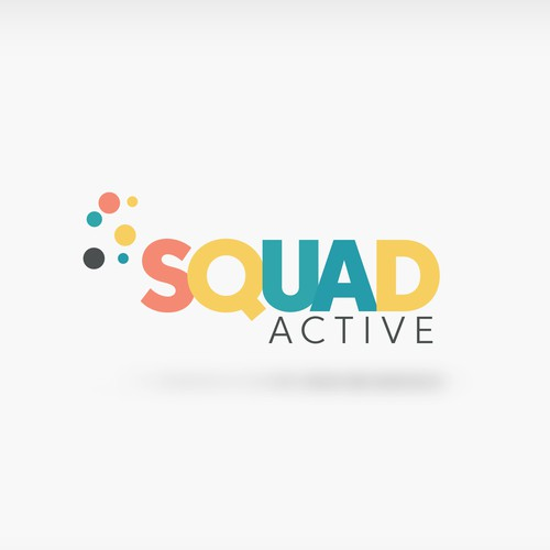 Fun, Energetic Logo for Squad Active