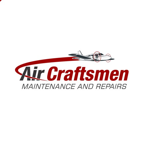 Logo for aviation maintenance company