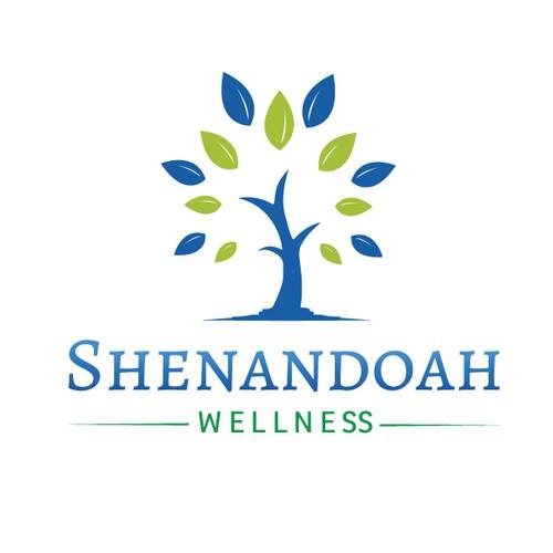 Health and wellness company logo.