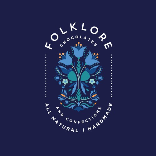 Logo design for Folklore Chocolates and Confections