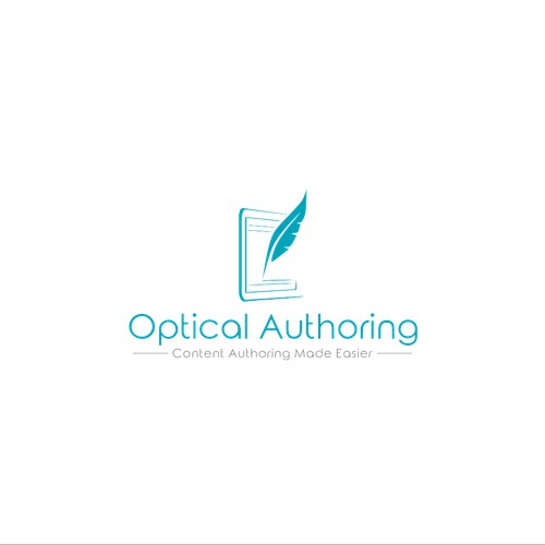 modern logo for optical authoring