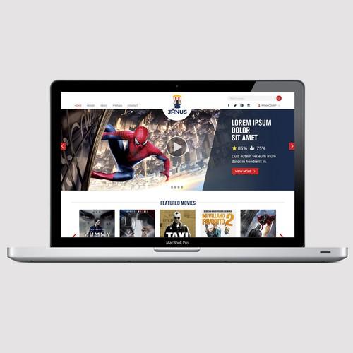 JANUS web design