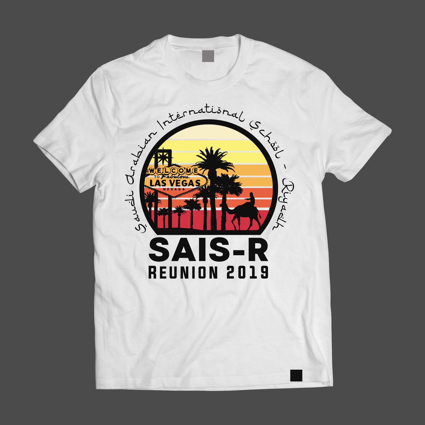 High School Reunion in Las Vegas needs a memorable T-Shirt!