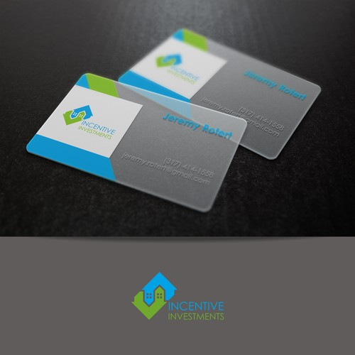 Professional Logo and Business Card for Property Investment Company