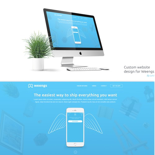 clear, simple and compelling website for a great mobile app