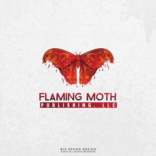 Logo Proposal for Flaming Moth Publishing, LLC