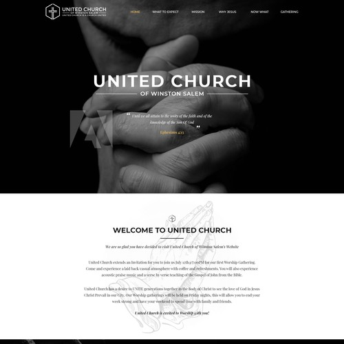 United Church Homepage