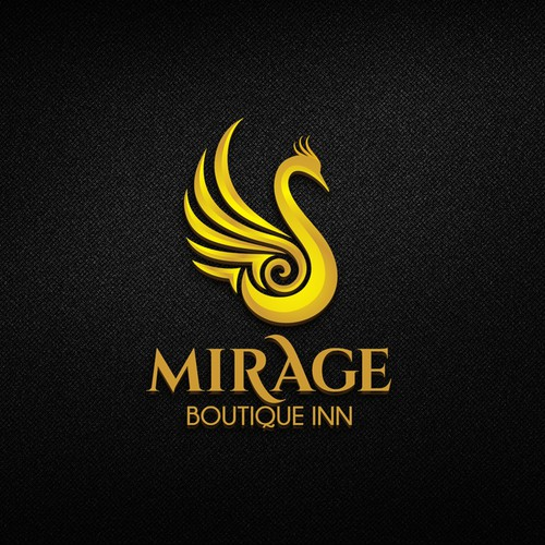 Luxury Logo for Mirage Boutique Inn