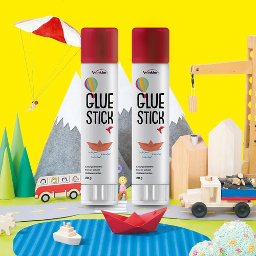 glue stick packaging