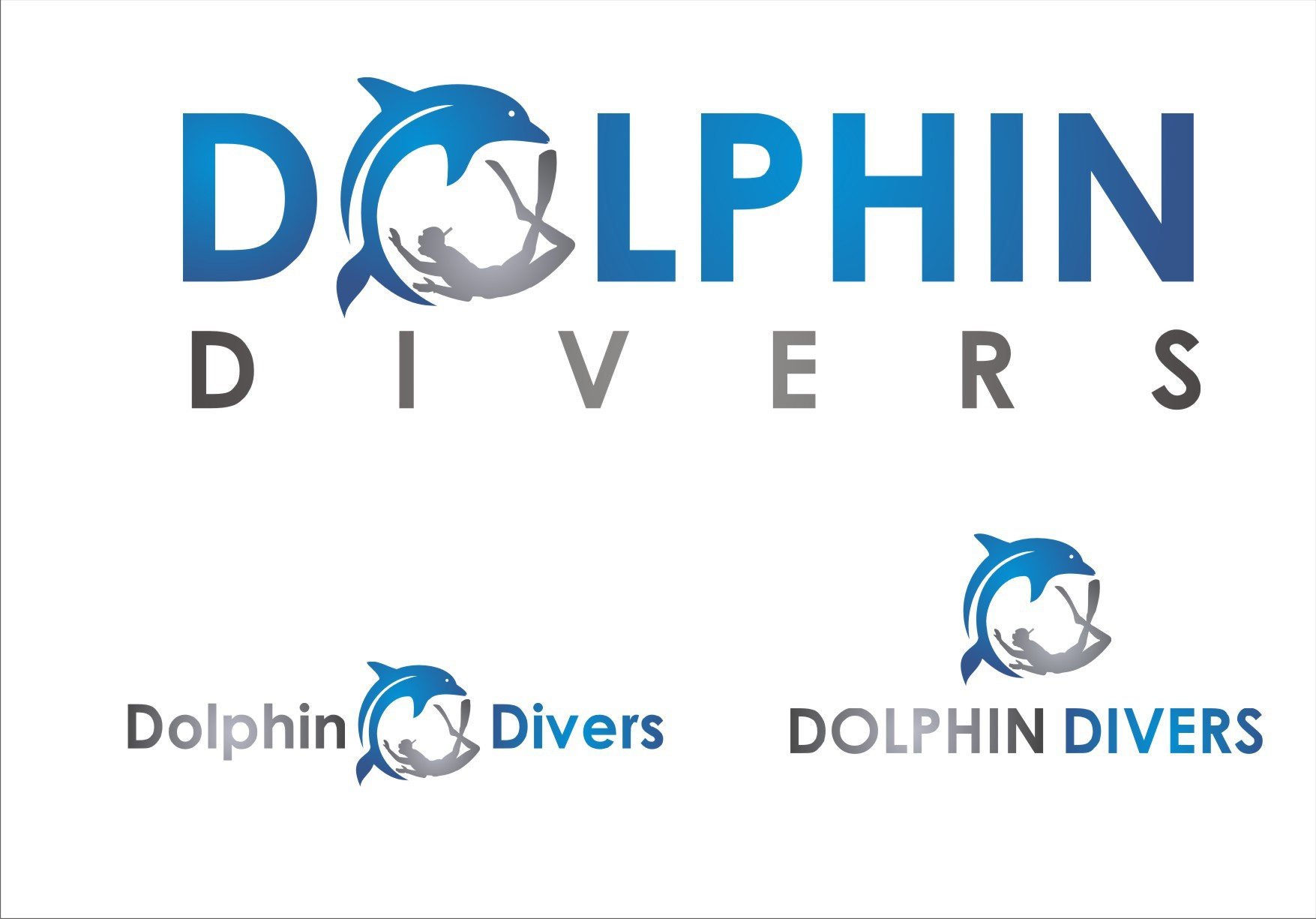 Design a logo for a Dolphin Watching and Snorkeling tour Company in Oahu Hawaii