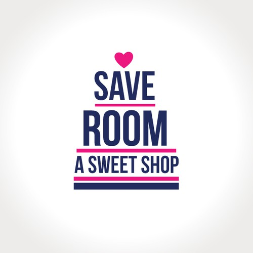 Save Room Sweet Shop needs a logo! Sketches Included!