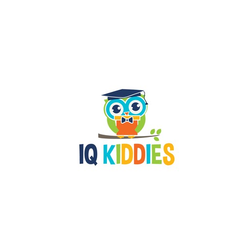 Youthful, playful, smart and symbolic logo for the Educational Children Toys