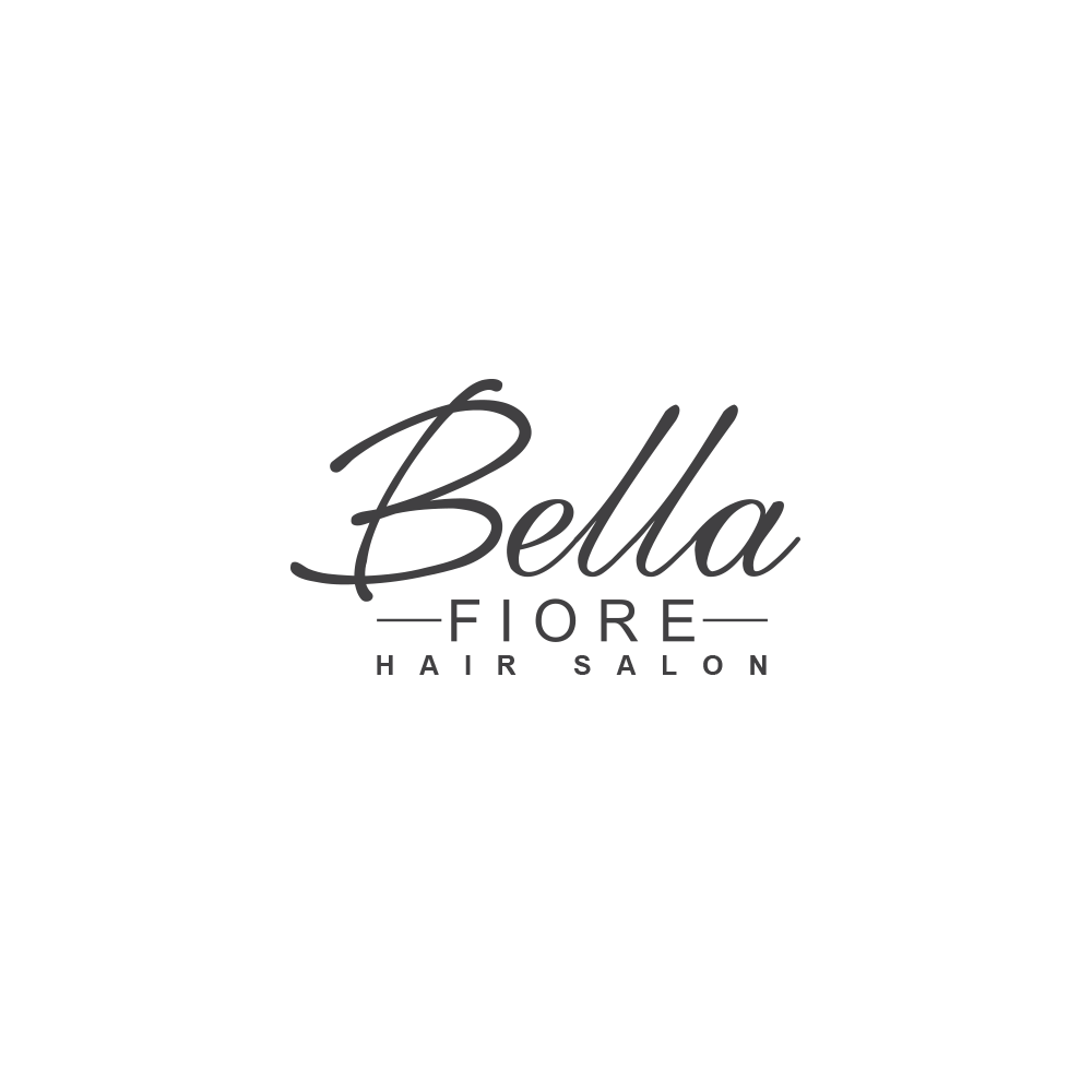 Logo design for modern salon.