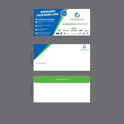 DL Flyer and Envelope