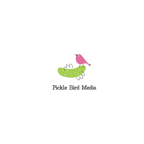 Fun logo for Pickle Bird Media