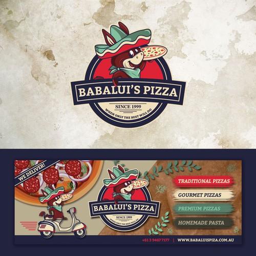 Babalui's Pizza Logo