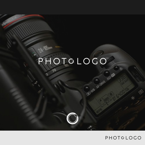 its make a logo type for a photography studio