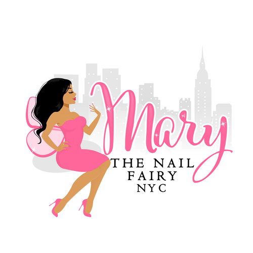Logo for a Nail technician