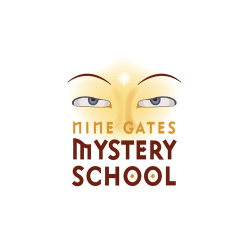 Logo for an Ancient Mystery School