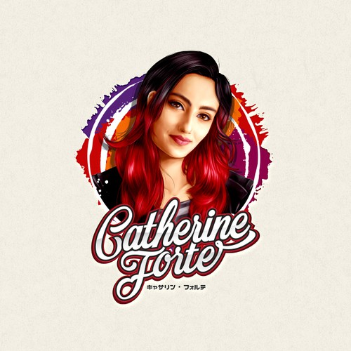 Logo and Animated Intro for Singer, songwriter & performer Catherine Forte