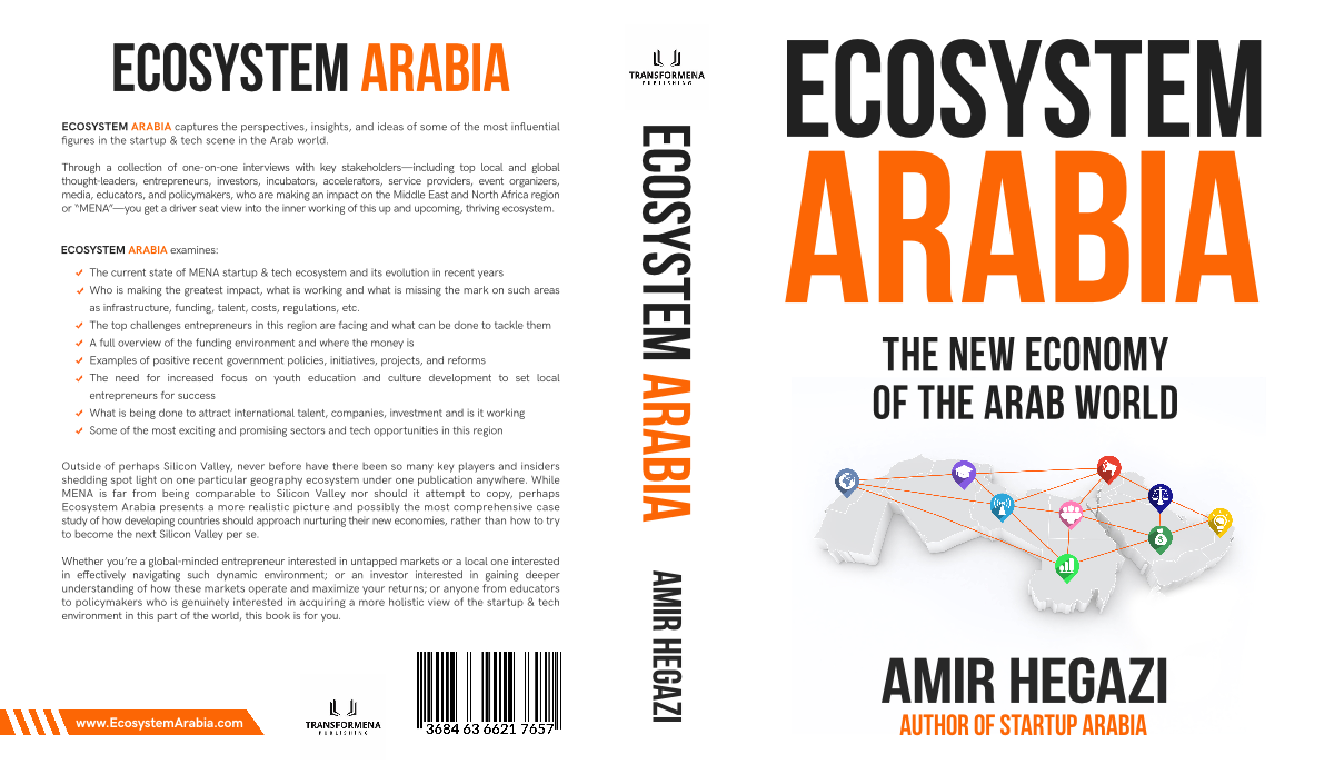 I need to change the subtitle to  THE NEW NEW ECONOMY OF THE ARAB WORLD  And underline say with orange line (or highligh
