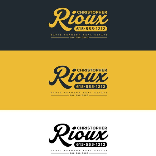 Christopher Rioux Logo