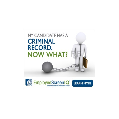 """Create a banner ad for """"My Candidate Has a Criminal Record. Now What?""""campaign!"""