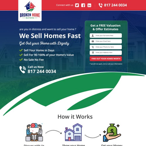 Dynamic Real Estate Landing Page