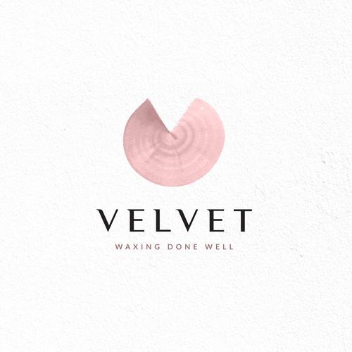 Organic logo concept for velvet
