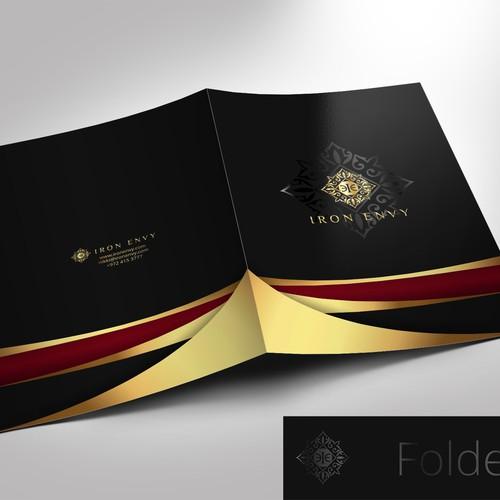Elegant folder design for Ironenvy
