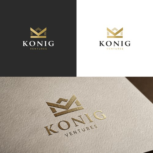 Konig Ventures - Branding and Hosted Website