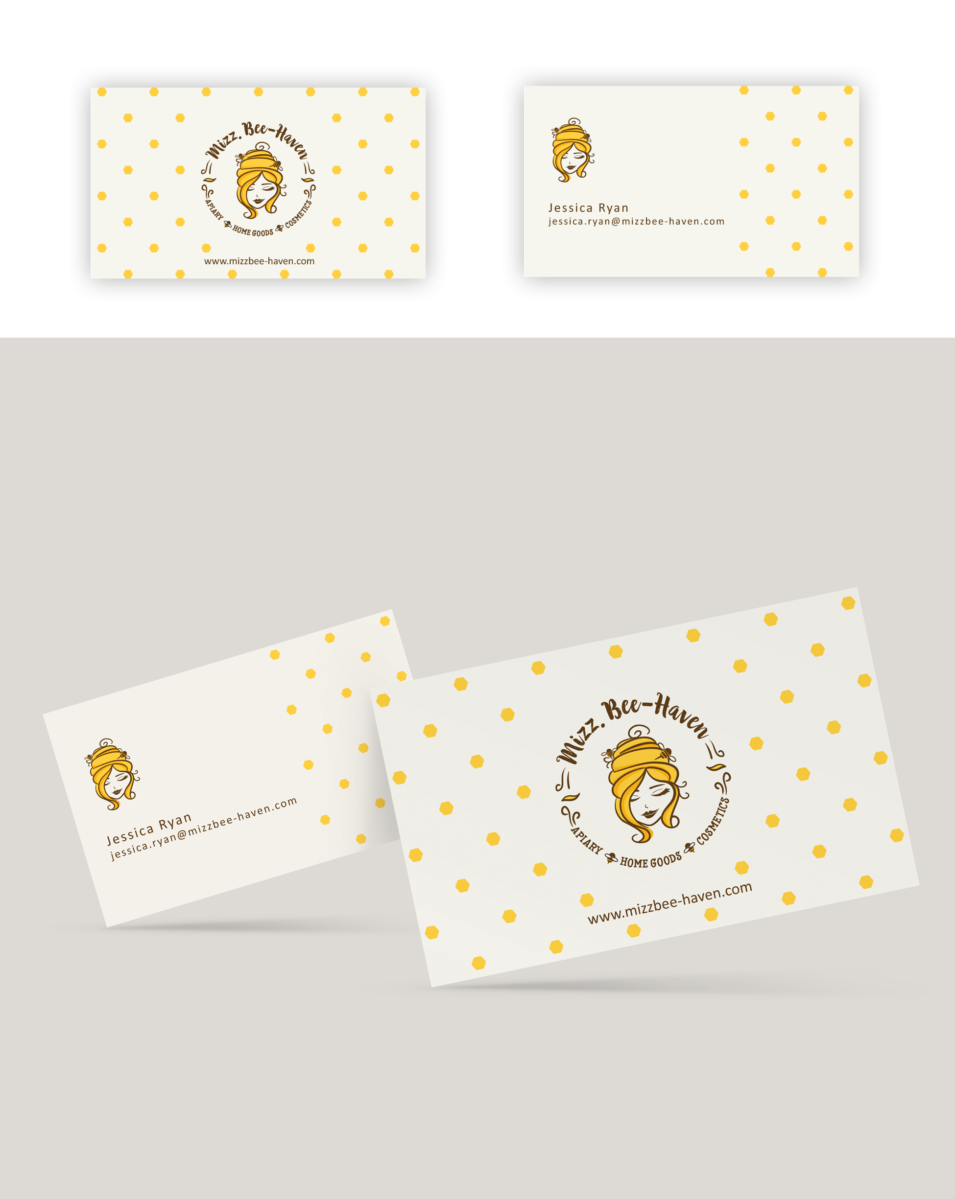 Design a logo for handmade honey-bee products