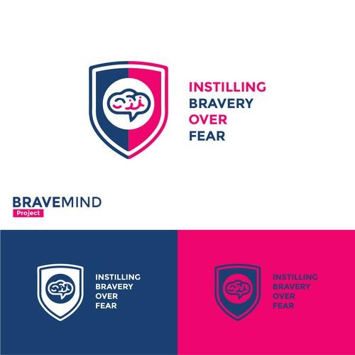 bravemind 2nd logo