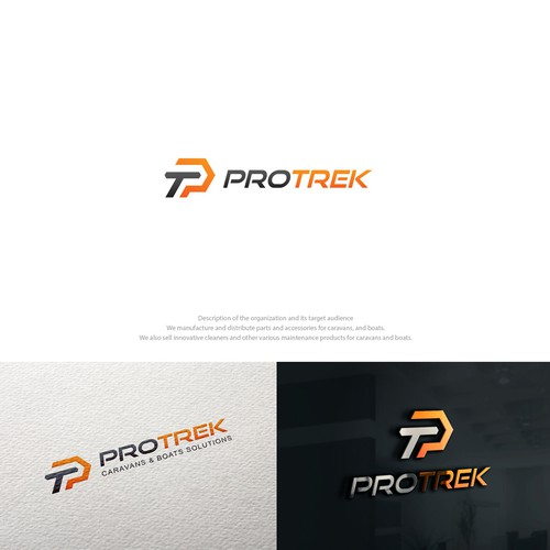 Bold modern logo concept for automotive industry