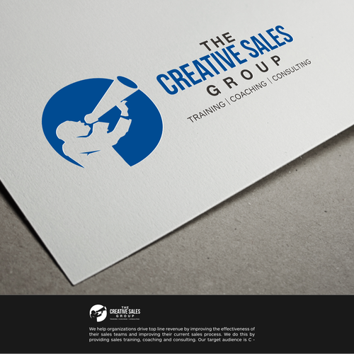 Create a professional and engaging logo for our Sales Consulting Firm.