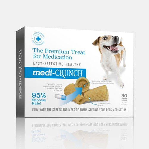 Medi-crunch dog treat
