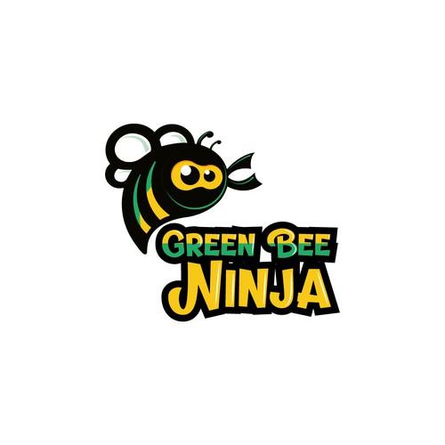 Logotipo Green Bee Ninja
