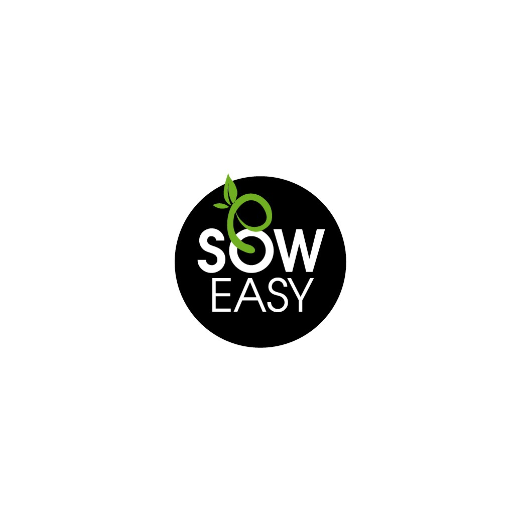 Sow Easy range of products (organic compost and potting mix) needs a modern and catchy logo