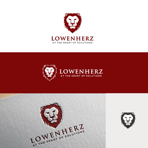 LION LOGO FOR LOWENHERZ
