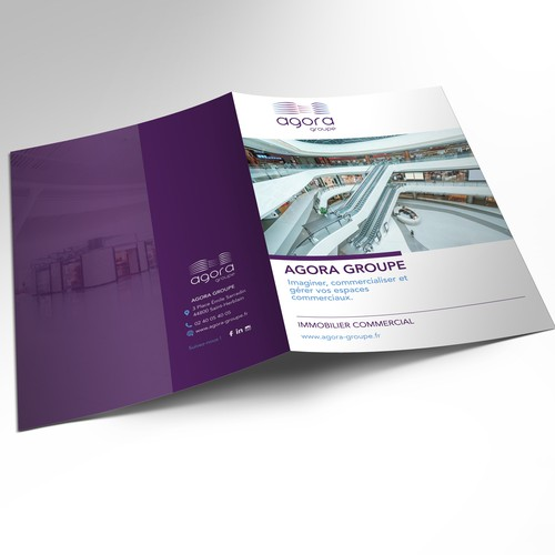 Brochure for Agora Groupe