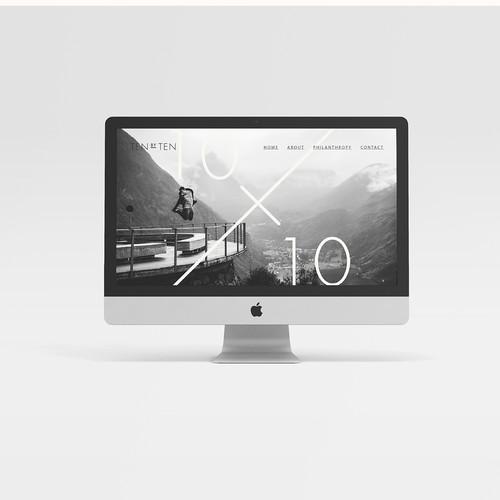 Brand identity for 10x10