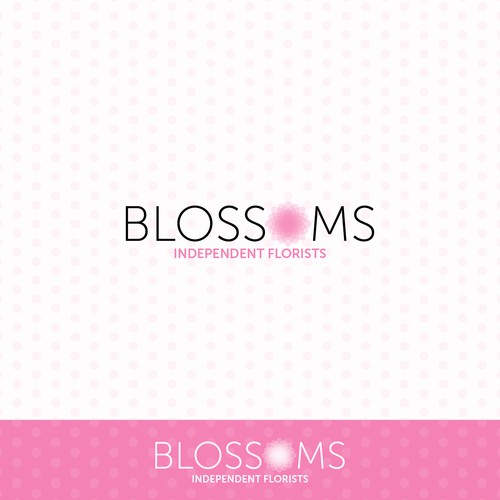 Logo concept for an independent florist