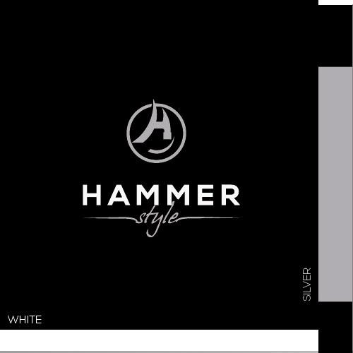 simple but elegant logo for Hammer Style